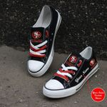 San Francisco 49ers Personalized New Low Top 022