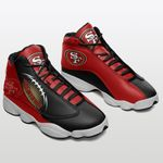 San Francisco 49ers Air JD13 Sneakers 297