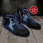Stitch Mandala Personalized Fashion Zipper Boots 017