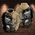 New Orleans Saints and Jack skellington Hoodie 598