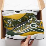Green Bay Packers Air JD13 Sneakers 635