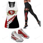 San Francisco 49ers Leggings - Tank Top - Air JD13 Sneakers