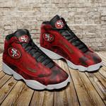 San Francisco 49ers Air JD13 Sneakers 475