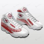Kansas City Chiefs Air JD13 Sneakers 485