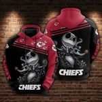 Kansas City Chiefs and Jack skellington Hoodie 592