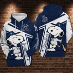 New York Yankees and Snoopy Limited Hoodie 659