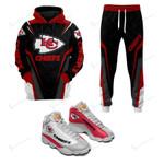 Kansas City Chiefs Joggers - Hoodie - Air JD13 Sneakers