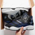 Dallas Cowboys Air JD13 Sneakers 477