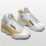 Pittsburgh Steelers Air JD13 Sneakers 492