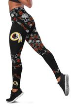 NFL Washington Redskins Limited Edition Women's All Over Printed Tank Top Legging