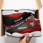 San Francisco 49ers Air JD13 Sneakers 705