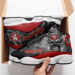 San Francisco 49ers Air JD13 Sneakers 712
