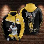 JuJu Smith-Schuster - Pittsburgh Steelers Limited Hoodie 876