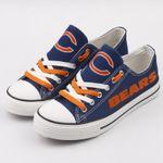 NFL Chicago Bears Limited Edition Low Top Canvas Shoes