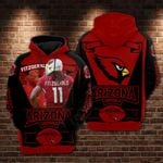 Larry Fitzgerald - Arizona Cardinals Limited Hoodie 830