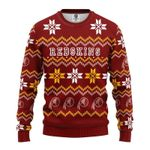 NFL Washington Redskins Limited Edition All Over Print Christmas Ugly Sweater Sweatshirt
