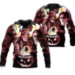 Washington Redskins Limited Edition All Over Print Full 3D  Hoodie