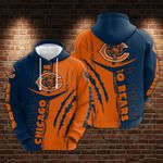 Chicago Bears Limited Hoodie 1012