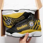 Pittsburgh Steelers Air JD13 Sneakers 732
