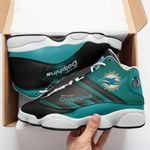 Miami Dolphins Air JD13 Sneakers 704