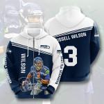 Seattle Seahawks No1812 Custom Hoodie 3D 719