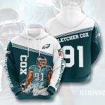 Philadelphia Eagles Fletcher Cox Hoodie 720