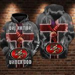 San Francisco 49ers - One Nation Under God Limited Hoodie S552