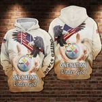 Pittsburgh Steelers - One Nation Under God Limited Hoodie S550