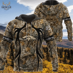 Denver Broncos Realtree Hunting Camo Limited Hoodie S569