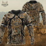 Chicago Bears Realtree Hunting Camo Limited Hoodie S570