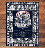 New York Yankees Limited Edition Quilt and Blanket 062