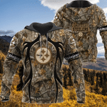 Pittsburgh Steelers Realtree Hunting Camo Limited Hoodie S580