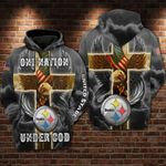 Pittsburgh Steelers - One Nation Under God Limited Hoodie S551