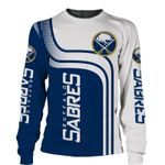 Buffalo Sabres Limited Edition Over Print Full 3D   Swearshirt  S - 5XL