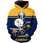Buffalo Sabres Limited Edition Over Print Full 3D   Hoodie S - 5XL