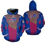 Buffalo Bills Limited Edition  Over Print Full 3D  Hoodie S - 5XL