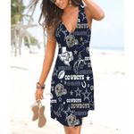 NFL Dallas Cowboys Beach Dress 90