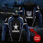 Personalized Dallas Cowboys Limited Hoodie S641