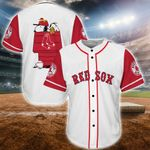 Snoopy-Boston Red Sox Baseball Jersey 22