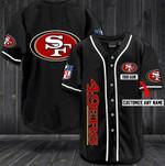 San Francisco 49ers Personalized Baseball Jersey Shirt 23