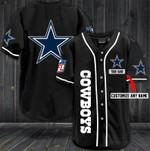 Dallas Cowboys Personalized Baseball Jersey Shirt 35