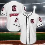 South Carolina Gamecocks Baseball Jersey Shirt 63