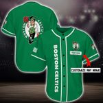 Boston Celtics Personalized Baseball Jersey Shirt 64