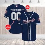 MLB Washington Nationals Personalized Baseball Jersey Shirt 68