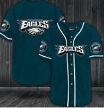 Philadelphia Eagles Personalized Baseball Jersey Shirt 75
