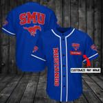 SMU Mustangs Personalized Baseball Jersey Shirt 80