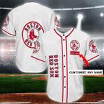 Boston Red Sox Personalized Baseball Jersey Shirt 82