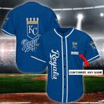 Kansas City Royals Personalized Baseball Jersey Shirt 85