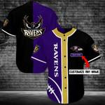 Baltimore Ravens Personalized Baseball Jersey Shirt 89