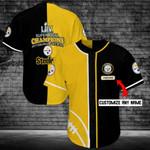 Pittsburgh Steelers Personalized Baseball Jersey Shirt 90